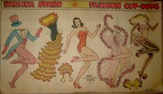 Brenda Starr Paper Doll  from Chicago Tribune 1942