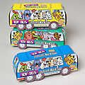 Animal Crackers - in Toy Bus, can order direct from co if not in area stores, farm n fleet may carry plus others.