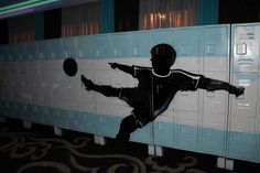 #Customized #Graffiti Lockers are great for your guests to store their belongings!