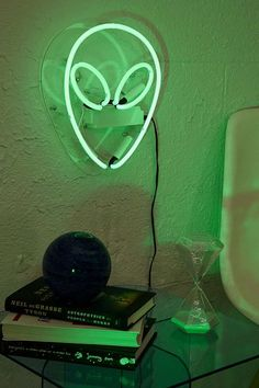 Urban Outfitters Alien Neon Sign