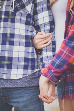 #plaid for #fall, a little partnerlook, cute :)