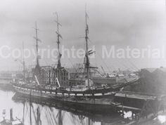Four Masted Sailing Ships Moored at Albert Quay c 1880 to 1910 > Cork: Merchant Princes > Cork City & County Archives Cork City, Long Distance, Sailing Ships, Boat, Explore, Photos, Dinghy, Pictures, Boats