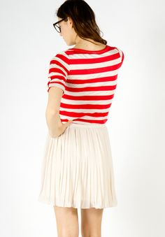 lucy striped tee ++ a x thread