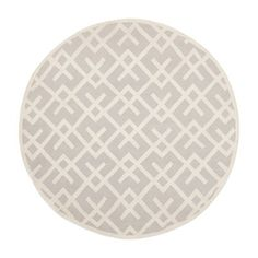 Safavieh DHU552G Dhurries Area Rug, Grey / Ivory