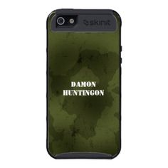 Camo Army iPhone 5 Cover