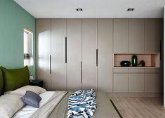 Family Playground – Interior Renovation by HAO Design Wardrobe Room, Wardrobe Design Bedroom, Built In Furniture, Furniture Design, Home Bedroom, Bedroom Decor, Wardrobe Door Designs, Cupboard Design, Home And Family