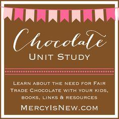 Free Chocolate Unit Study  MercyIsNew.com