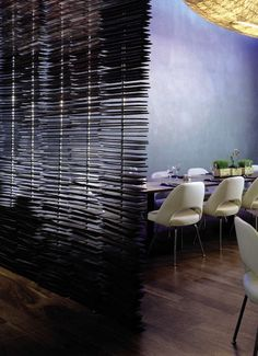 Ways To Decorate Unfinished (Studio) Spaces - Partition: Blind Ideas - Fabric, Louvered, or Matchstick