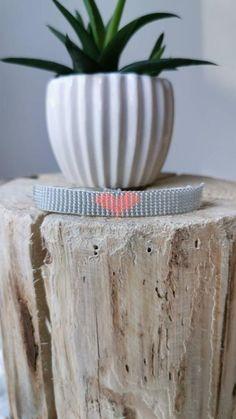 Seed Bead Bracelets, Loom Bracelets, Macrame Bracelets, Seed Beads, Macrame Knots, Chevron Friendship Bracelets, Friendship Bracelets Tutorial, Handmade Shop, Handmade Jewelry