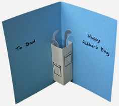 Easy DIY card for Fathers Day!