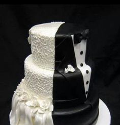 His and Hers wedding cake!