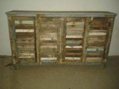 Reclaimed side board.  www.alpacorp.in