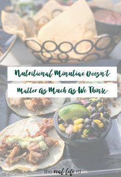 Nutritional Minutiae