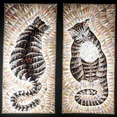 Visions.  A quilt by Helen Giddens honoring a departed friend