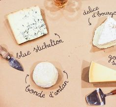 This Is the Easiest Way to Make a Beautiful Cheese Platter — Tips from The Kitchn There's also room to add cute little descriptions, like the type of milk the cheese is made out of, where it was made, or what condiment or cracker it would pair well with.