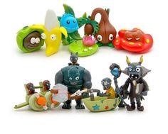 10PC plants vs zombies Figure Toys Collectibles by GfanStudio
