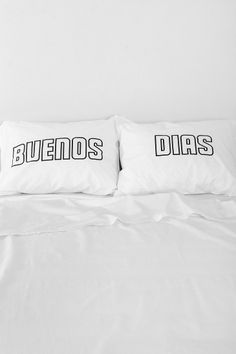 The Rise And Fall Buenos Dias Pillowcase - Set Of 2