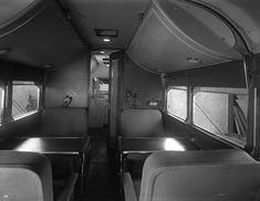 Zephyr Land Yacht (Land Cruiser) designed for William Woods Plankinton, Jr. by Brooks Stevens Vintage Campers Trailers, Camper Trailers, Land Cruiser, Gmc Motorhome, Milwaukee Art Museum, Vw T, Panel Truck, Mode Of Transport, Short Trip