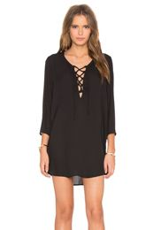 Naven Twisted Circle Dress en Negro | REVOLVE