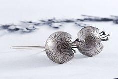 TULIPS  silver earrings  flower earrings  present by OYRZANOWSKA