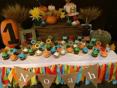 Fall first birthday party!