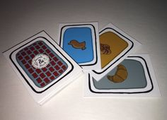 Sarah & Duck's Same Bread Card Game - INSTANT DOWNLOAD by toysformydaughter on Etsy https://www.etsy.com/listing/532903931/sarah-ducks-same-bread-card-game-instant