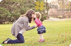 This is just such a sweet mom and daughter shot!  #Trina Bird Photography
