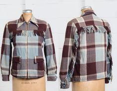 1950s Western Fringe Jacket