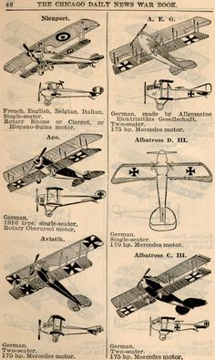 WWI Airplanes (3)