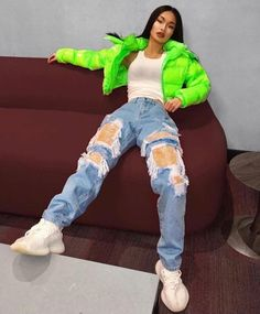Behind The Scenes By unreaping Tomboy Outfits Scenes unreaping Cute Swag Outfits, Dope Outfits, Retro Outfits, Trendy Outfits, Grunge Outfits, Vintage Outfits, Summer Outfits, Neon Green Outfits, Outfits Mujer