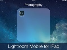 Lightroom Mobile is a promising new offering for Lightroom users who want the flexibility and productivity of working on the go!