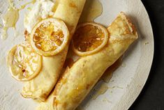 The great news about this recipe is that the batter can be made up to one day ahead of time. The even better news: the crepes taste tenderer the longer the batter sits. Which means making them ahead actually improves their flavor. You can do most of the other recipe prep ahead of time, too, including slicing the lemon, making the lemon syrup, and whipping up the lemon-honey ricotta. Just be sure to store each component in the refrigerator tightly covered in plastic wrap. So when it comes…