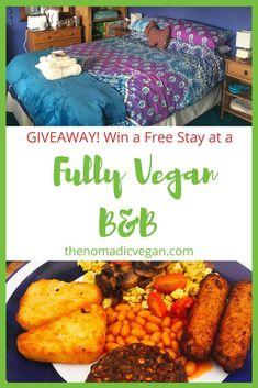 Giveaway - Win a Free Stay at the Cosy Vegan B&B in Fife, Scotland #travel #Scotland #vegantravel #Fife #B&B #veganhotels #accommodation #budgettravel #couplestravel #breakfast #veganbreakfast #UK #veganUK #travelScotland
