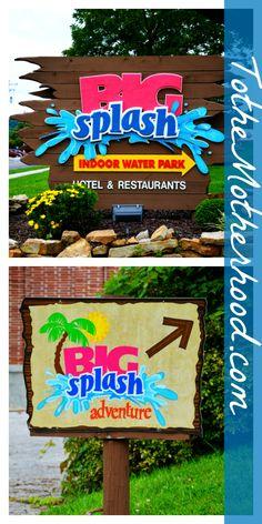 Big Splash Adventure Indoor Water Park and Resort in French Lick, Indiana