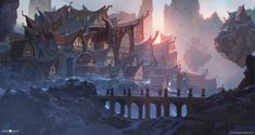 Mountain Top Village by AlexKonstad ★ Find more at http://www.pinterest.com/competing/