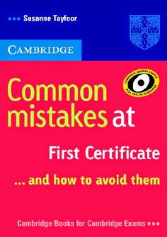 la faculté: FREE EBOOK : Common Mistakes at first certificate.pdf