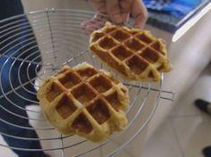 Waffle, prato típico da Bélgica (Grep) (Foto: Globo Repórter)