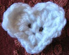 Best Free Crochet » Free Crochet Pattern – Tiny Heart #13