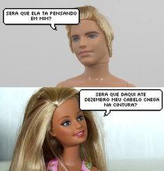A página Barbie sem Ken entende suas preocupações como ninguém.