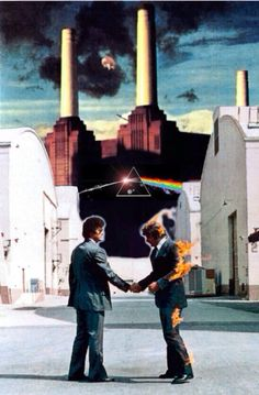 Pink Floyd, Album Covers, picture composition