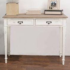 <strong>Lark Manor</strong> Geernium 2 Drawer Writing Desk