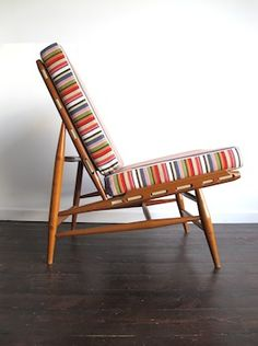 Lucien Ercolani; #427 Lounge Chair for Ercol, 1960s.