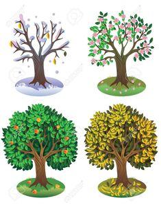 Seasons Of The Year Tree Four seasons o