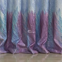 Top Selling Fantastic Pretty Two Pieces Custom Curtain