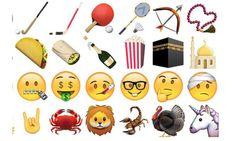 En total, iOS 9.1 cuenta con 150 emoji que incluyen comida, caras sonrientes y equipo deportivo.