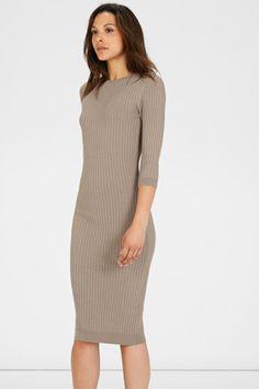 CREW RIB DRESS £46