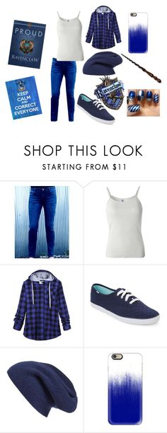 """""""Guess What House I'm In!?"""" by little-flemo ❤ liked on Polyvore featuring B. Ella, Keds, Halogen and Casetify"""
