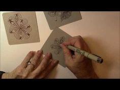 Inkidoodles.com  Melinda Barlow CZT : Apacore Tangle Pattern Lesson # 192