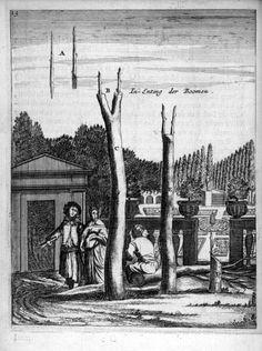 "Den Nederlandtsen Hovenier (1670). ""In-Enting der Boomen."""