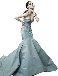 Zac Posen 2012 ... My new dress obsession. The cut and details. Perfection.